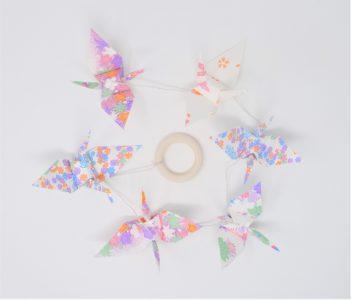Les Grues Pastelles - Washi Japonais