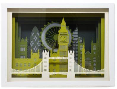 Londres - Silhouette de ville