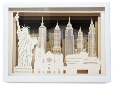 New-York - Silhouette de ville