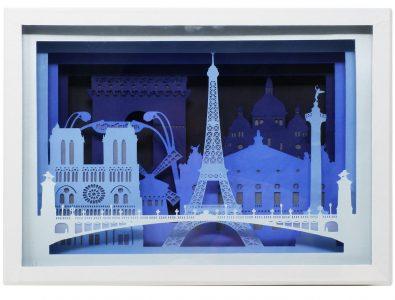 Paris - Silhouette de ville